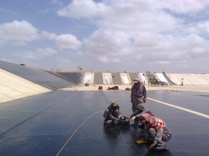 Geomembrane for Reservoirs